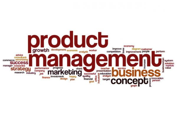 Product management word cloud concept