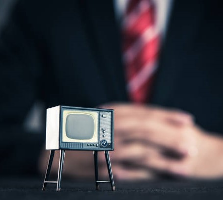 Television and businessman